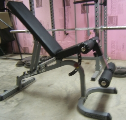Body Solid GFID31 Weight Bench in Incline Position