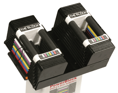 PowerBlock Classic 45 Adjustable Dumbbell Set - Discontinued