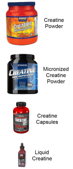 Creatine Forms