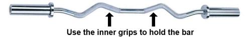 EZ Bar Triceps Grip