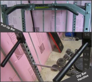 Powertec Power Rack Attachements