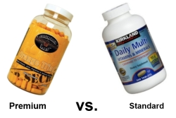 premium multivitamin vs standard multivitamin