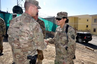 female soldier fat loss