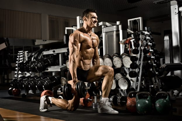 how to build muscle and strength split squat