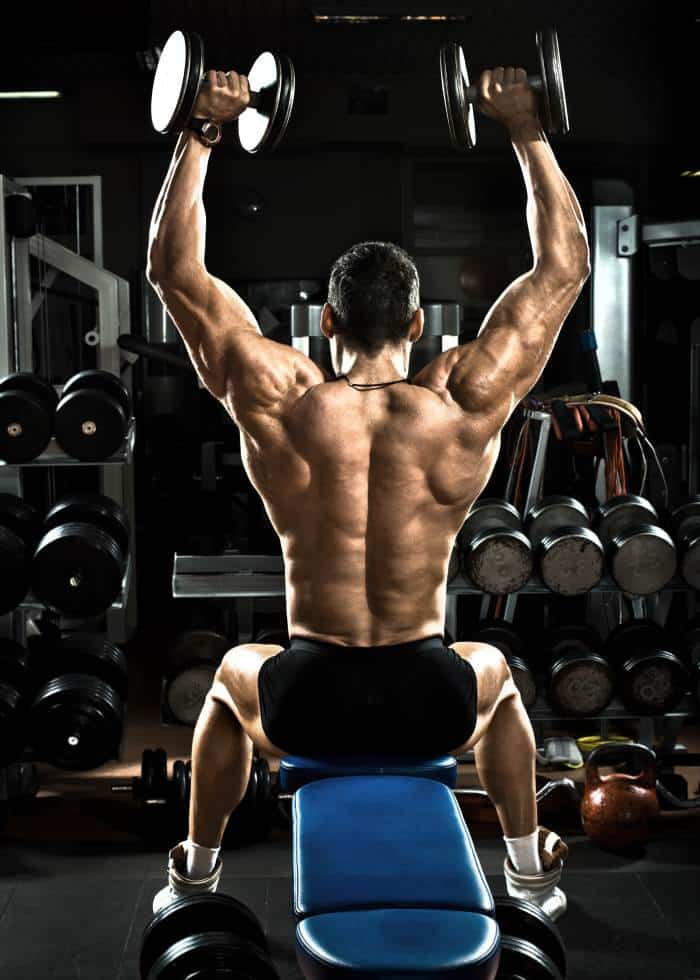 dumbbell shoulder press benefits