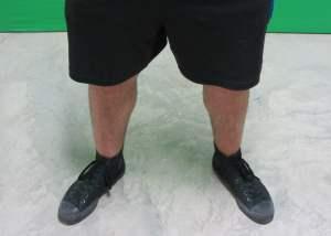 high bar squat stance width