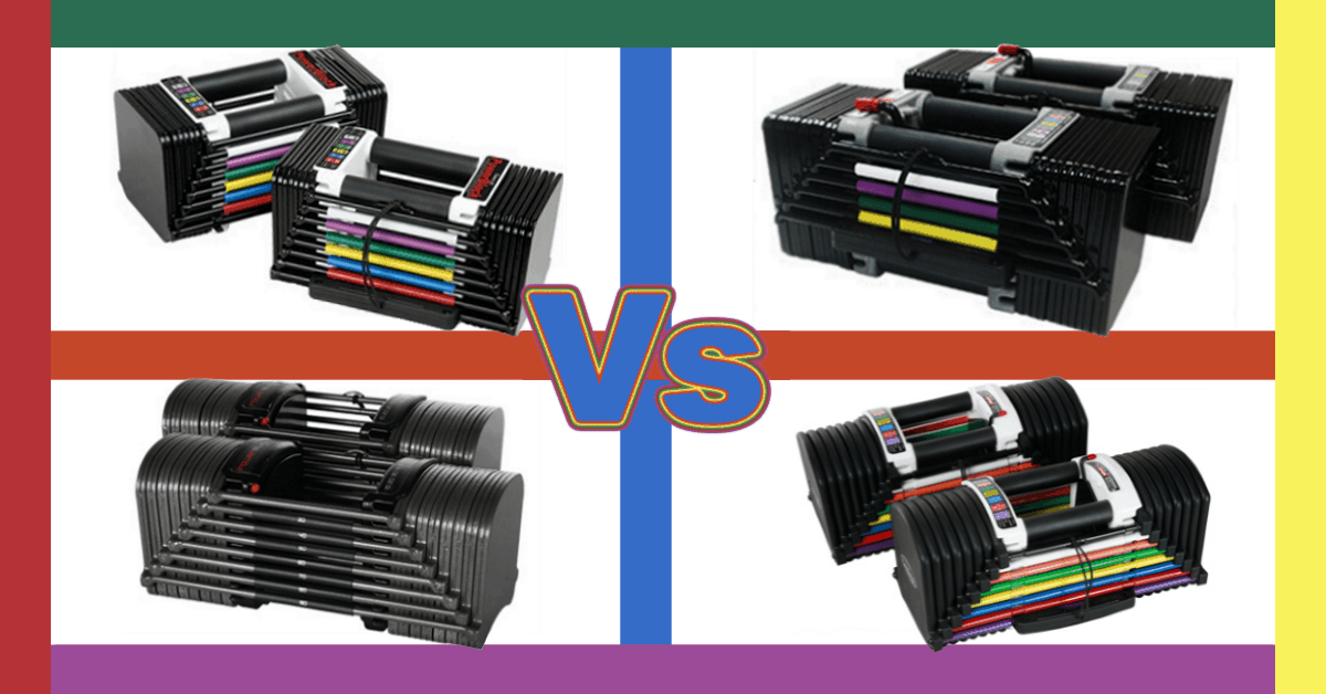 PowerBlock Classic vs Elite vs Sport vs Urethane Series Adjustable Dumbbells