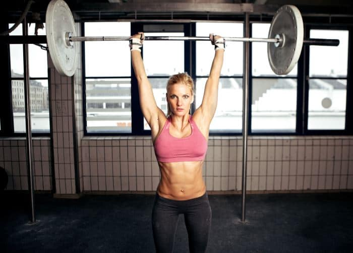best shoulder exercises: overhead press