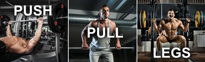 Intermediate And Advanced Push Pull Split Routine