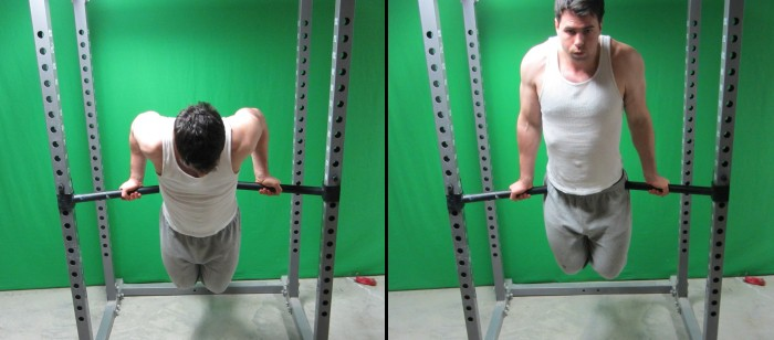 supinated grip dips
