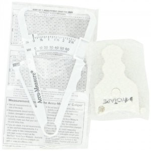 AccuMeasure Body Tape Measure and Body Fat Calipers