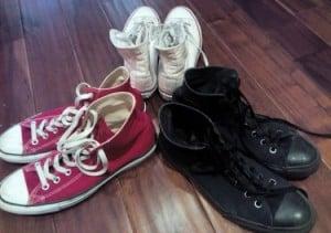 Converse Chuck Taylor lifting shoes