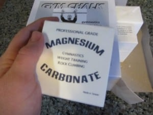 Magnesium Carbonate Lifting Chalk