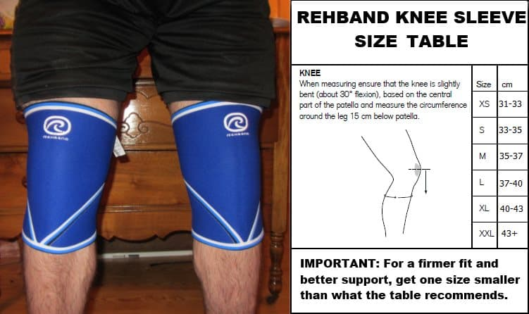1146f4ccf9 rehband-knee-sleeves-sizing - King of the Gym