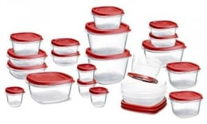 50 Piece Tupperware Set by Rubbermaid