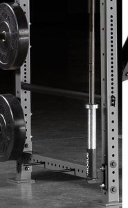 power rack bar holder attachment