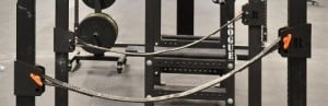 power rack safety strap system