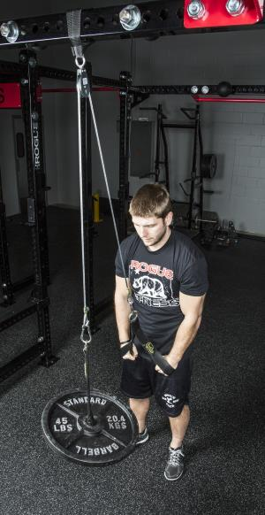 Spud Inc. Econo tricep and lat pulley