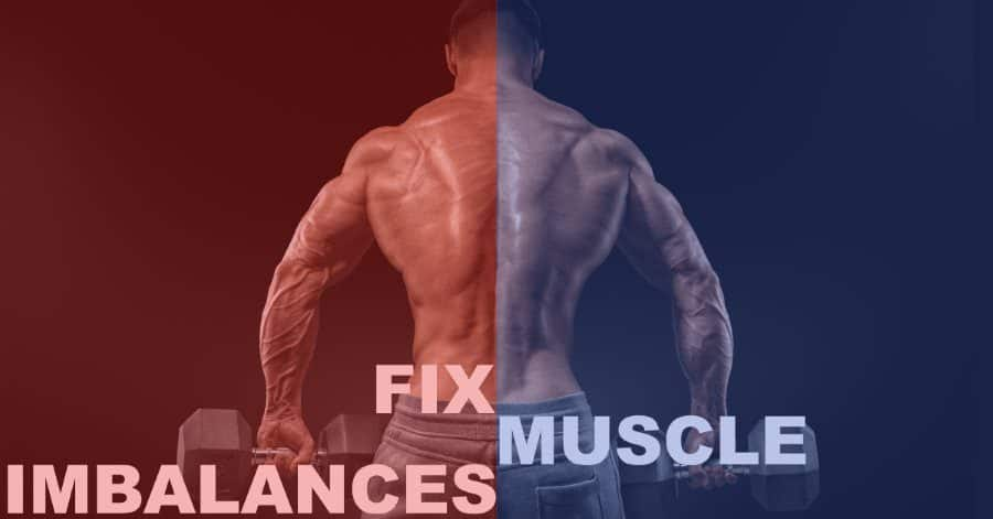 how to train muscle imbalance