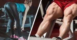 Build bigger legs by using different rep ranges