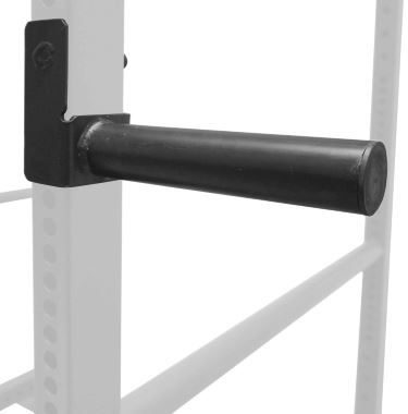 Olympic Weight Plate Holder for T-3 Power Rack 1 Inch Tube - Attached to Rack