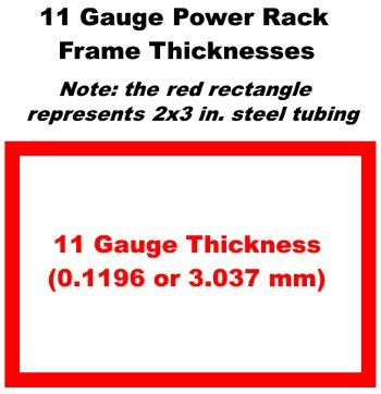 11 Gauge Power Rack Steel Thickness