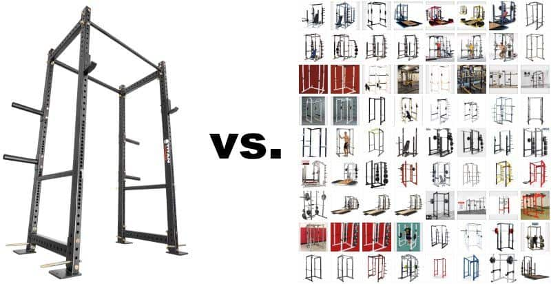 Titan T-3 Series HD Power Rack vs All Other Power Racks