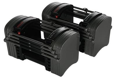 PowerBlock Sport EXP Stage 1 Adjustable Dumbbell Set - 5-50 lbs