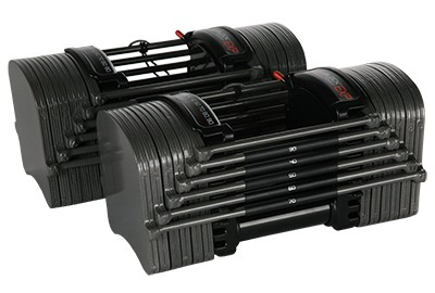 PowerBlock Sport EXP Stage 2 Adjustable Dumbbell Set - 5-70 lbs