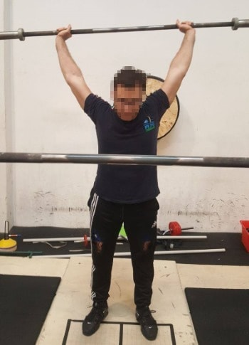 Uneven Shoulders - Overhead Press - Lockout