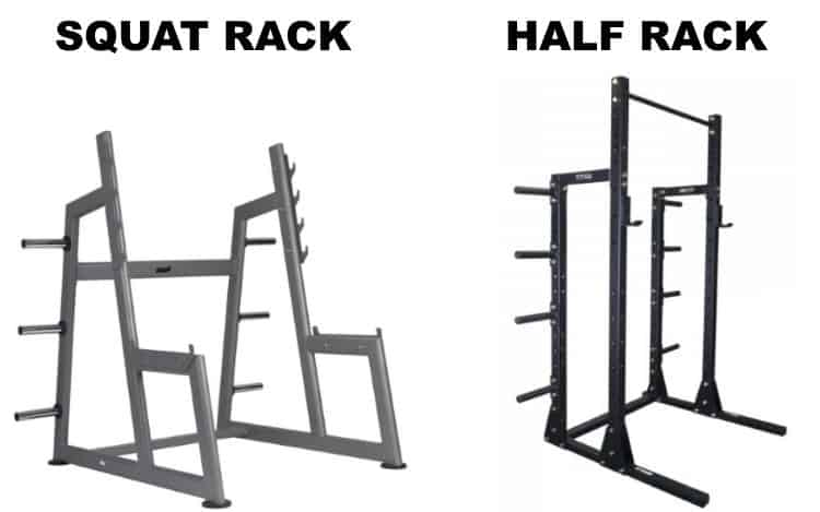 Squat Rack vs Half Rack