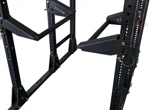 30 Inch X-3 Parallel Bars - Side Angle View