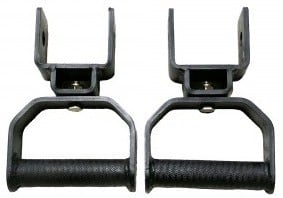 Rotating Pull Up Handles for X-3 Power Rack - Individual Handles - Not Installed
