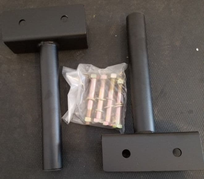 Titan X-3 Bolt-On Weight Plate Holders Unboxed - X3JWHOLD