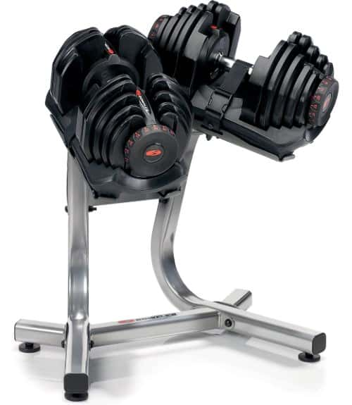 Bowflex SelectTech 1090 Dumbbell Set with Stand