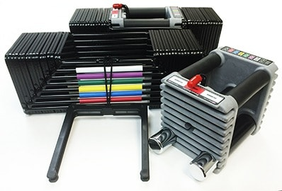PowerBlock Elite 90 Adjustable Dumbbell Set