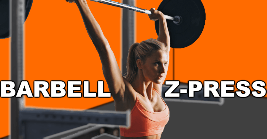 Barbell Z-Press Exercise Form