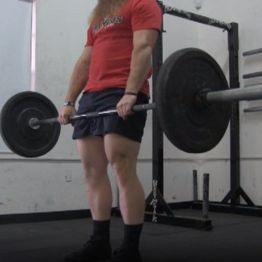 Conventional Deadlift Lockout