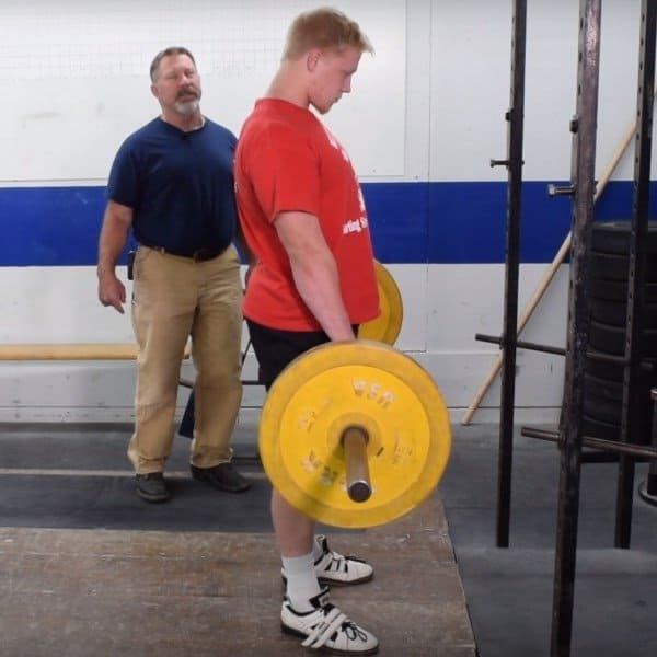 Romanian Deadlifts - Ending Position