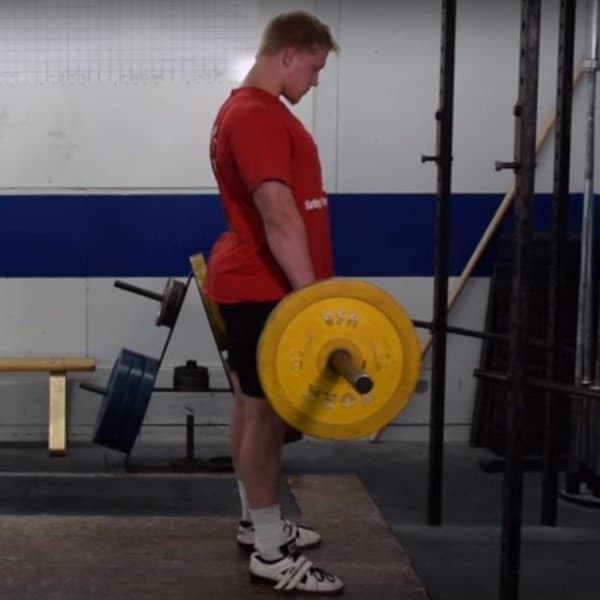 Romanian Deadlifts - Starting Position