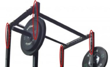 Titan X-2 Power Rack Pull Up Bar Adjustments