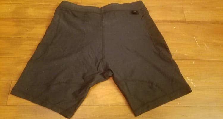 A7 OX Compression Shorts - Rear