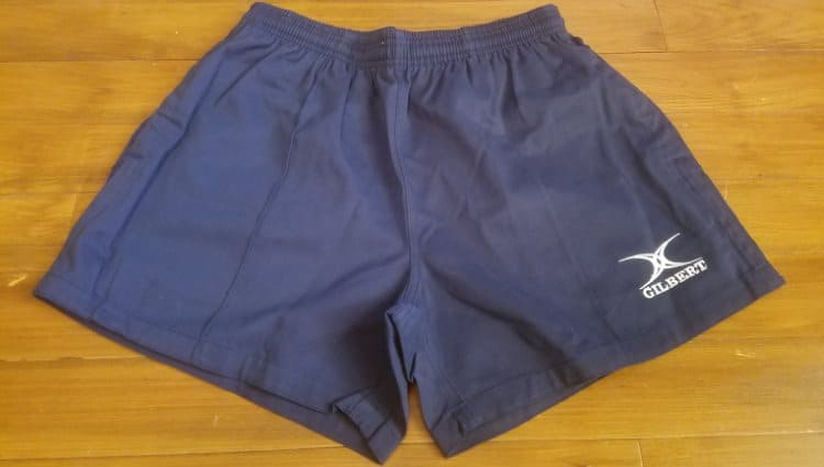 Gilbert Rugby Shorts - Front