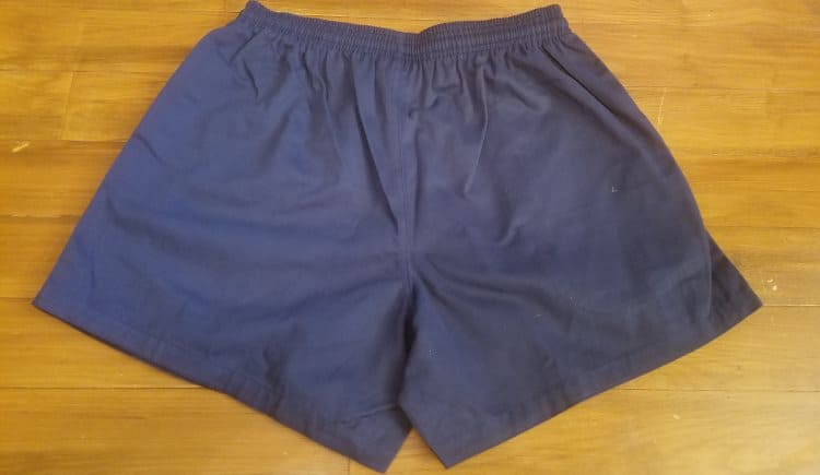 Gilbert Rugby Shorts - Rear