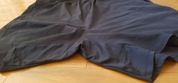 A7 Center-stretch Squat Shorts - Stretcy Material Between Thighs