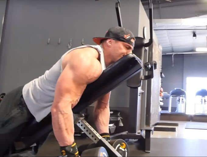 Dumbbell Rear Delt Swing Exercise Form Guide with Video & Pictures