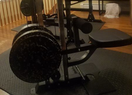 Force USA MyRack Lat Pull Down Seat for Cable Crossover