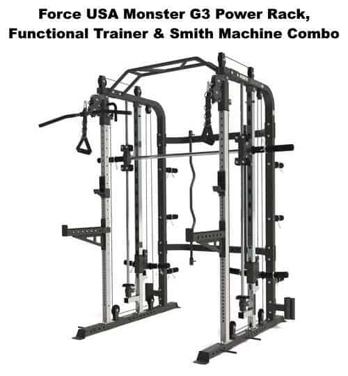 Monster G3 Power Rack Functional Trainer Smith Machine Combo
