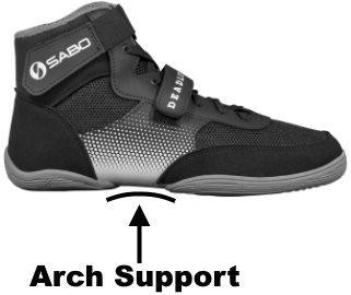 Arch Support on SABO Shoes