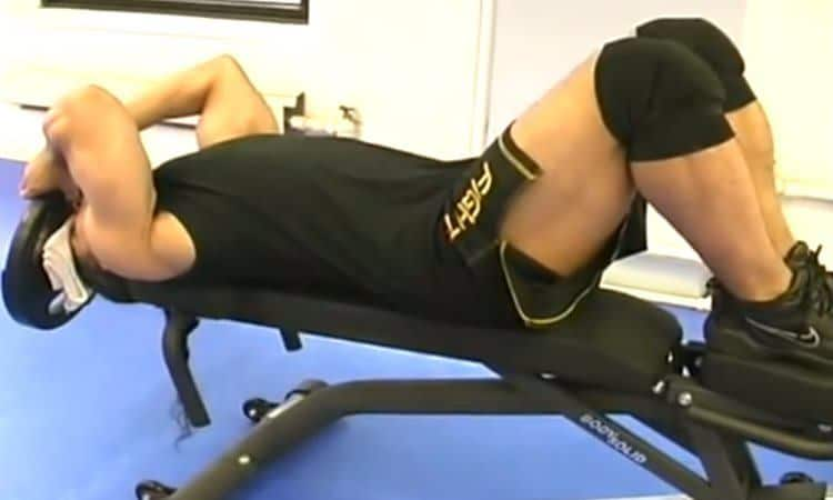 Lying Neck Flexion Starting Position